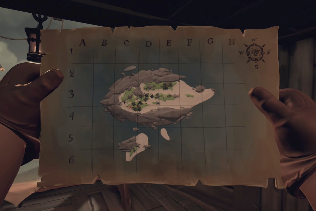 Sea of Thieves island shapes and locations - Polygon