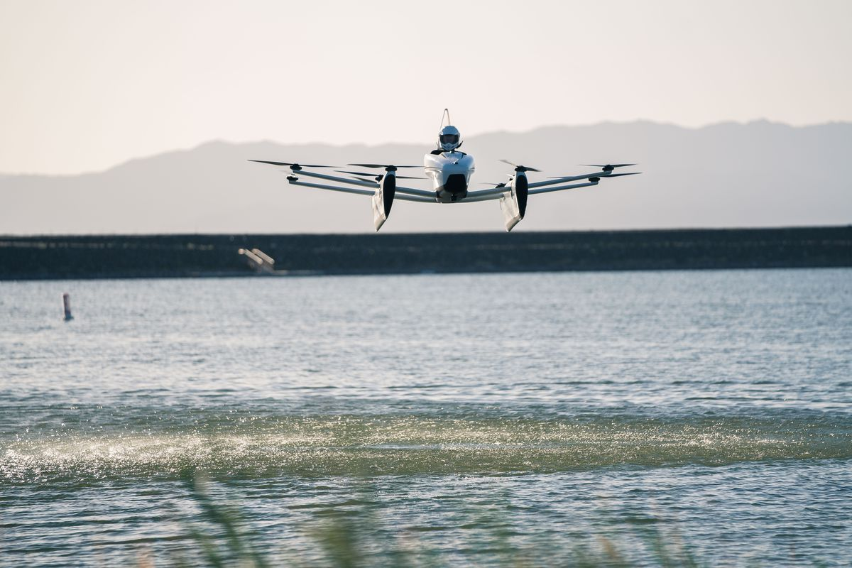 The Kitty Hawk Flyer Is Your Own Personal Electric Aircraft The Verge
