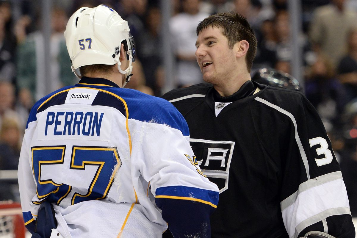 """""""I'm sorry you're such a...Perron"""""""