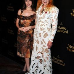 Anna Kendrick and  Vivienne Westwood <br />Photo by Frazer Harrison/Getty Images