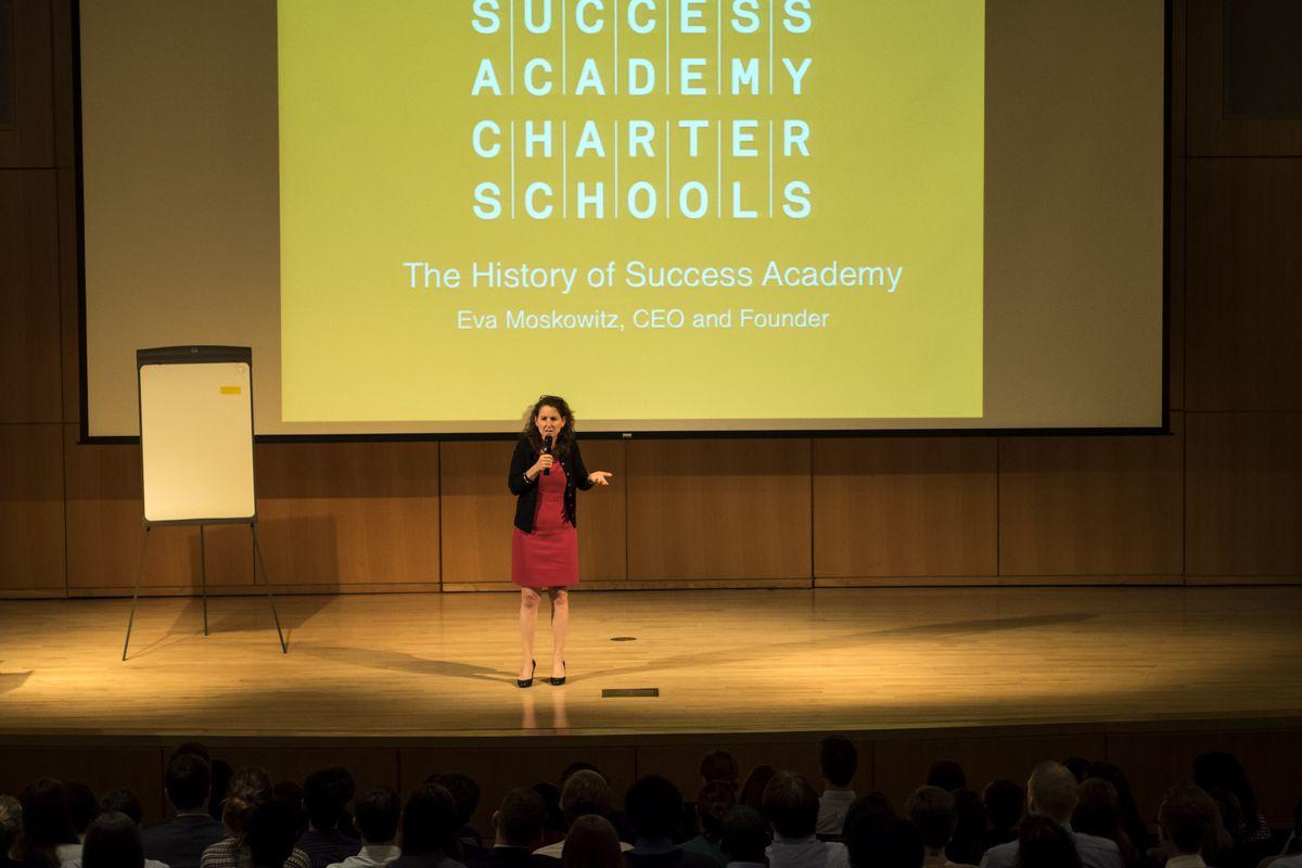 Eva Moskowitz of Success Academy...