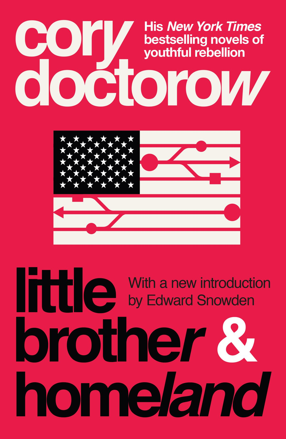 little brother & homeland omnibus covers by cory doctorow