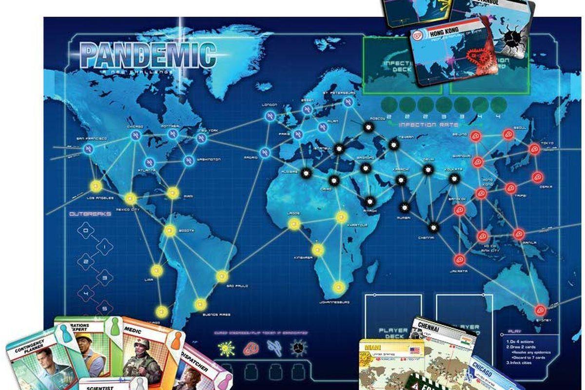 """Резултат с изображение за """"pandemic game"""""""