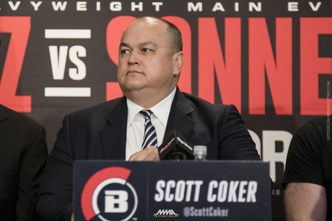 community news, Scott Coker unsure of Mayweather vs. McGregor impact on UFC: 'You're putting your fighter in harm's way'