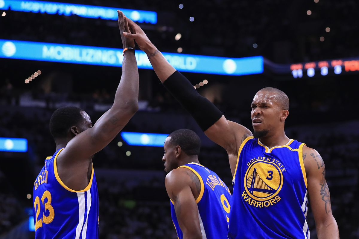 first rate c208c d85db NBA free agency 2017: David West re-signs with Warriors for ...