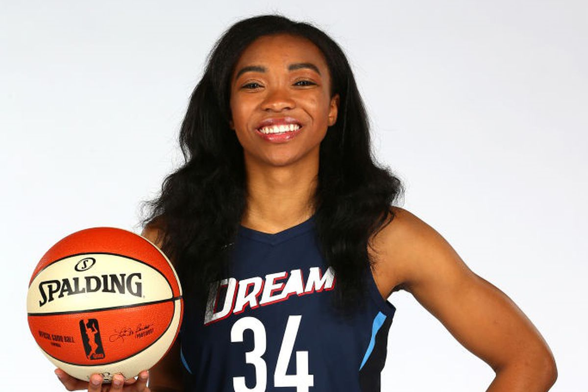 buy online e14d4 ed539 Imani McGee-Stafford Photo by Kevin Liles NBAE via Getty Images