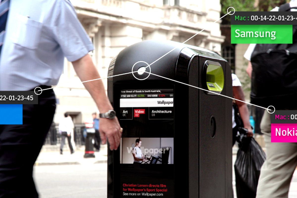 Smart trash can knows how fast you walk and which smartphone you ...