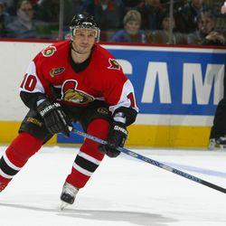 Peter Bondra, Ottawa Senators (Photo By Dave Sandford/Getty Images)