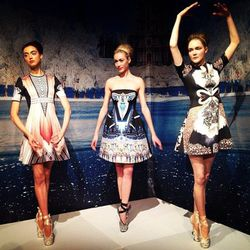 """""""@clovercanyon's #fw13 collection, 'Winter Palace,' is inspired by the opulence of Russia."""" - <a href=""""http://instagram.com/p/VsfLNIotH0/"""" target=""""_blank"""">@courtneyporkolab</a>"""