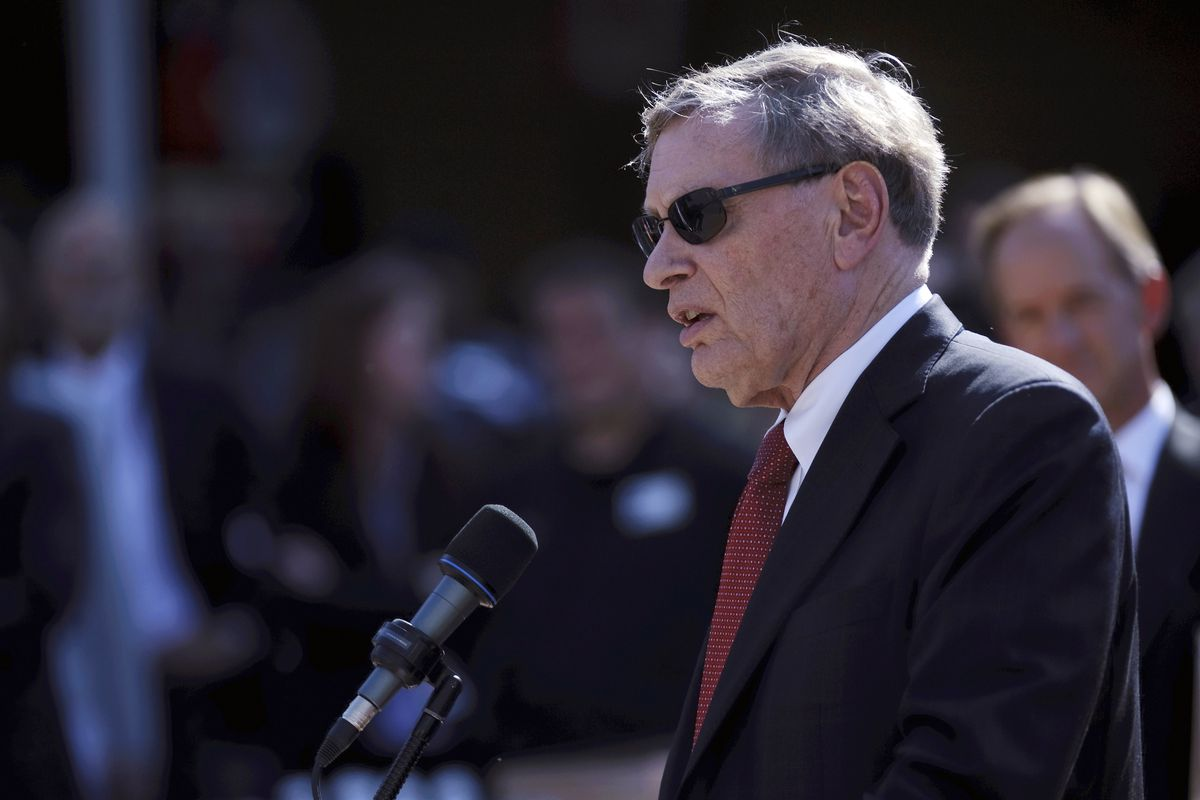 MINNEAPOLIS, MN - AUGUST 29: MLB commissioner Bud Selig addresses the media as the announcement is made for the location 2014 All-Star Game on August 29, 2012 at Target Field in Minneapolis, Minnesota. (Photo by Hannah Foslien/Getty Images)