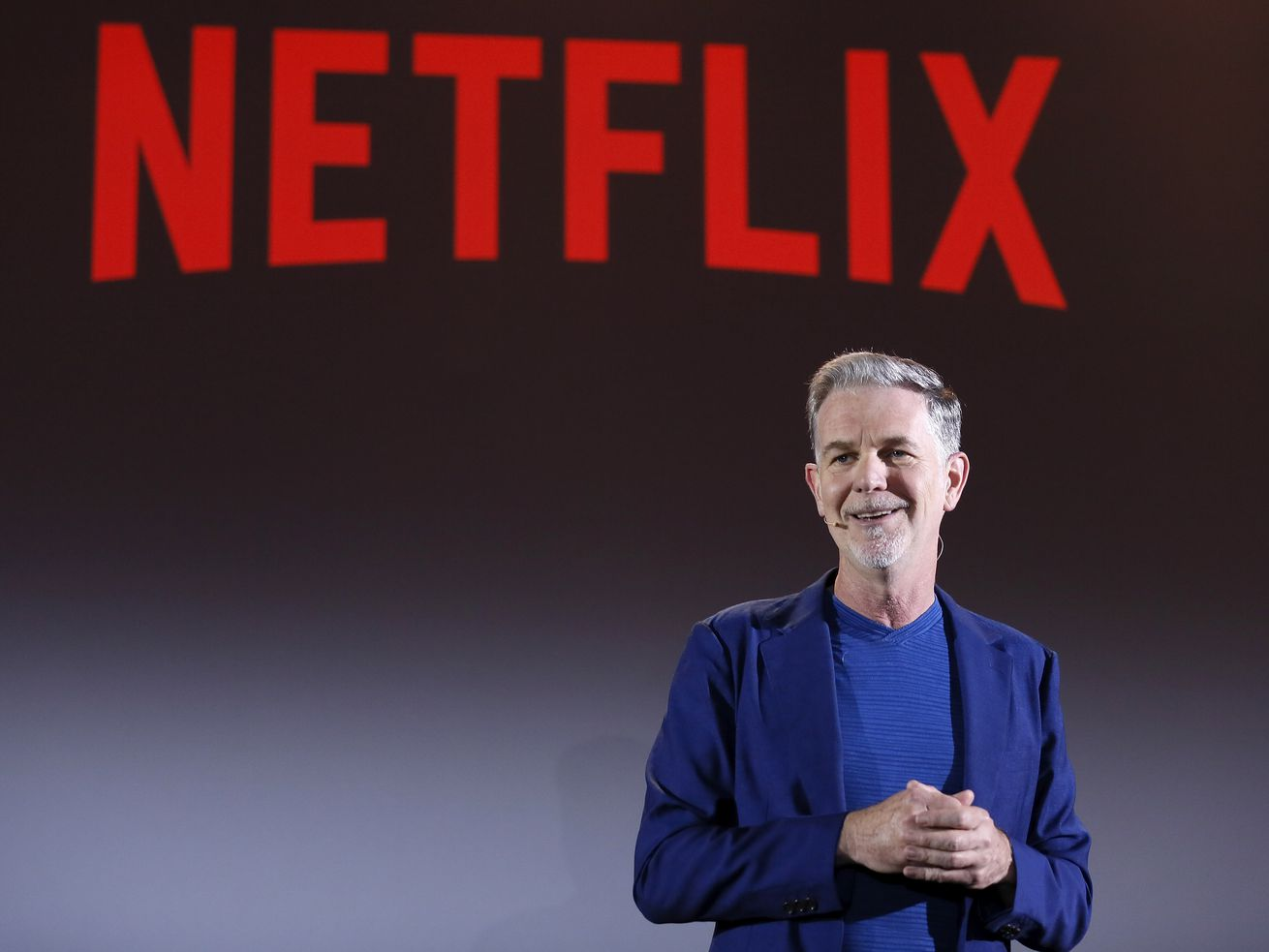 Netflix CEO Reed Hastings says the obvious: He won't be working with Apple when it launches its new video plans