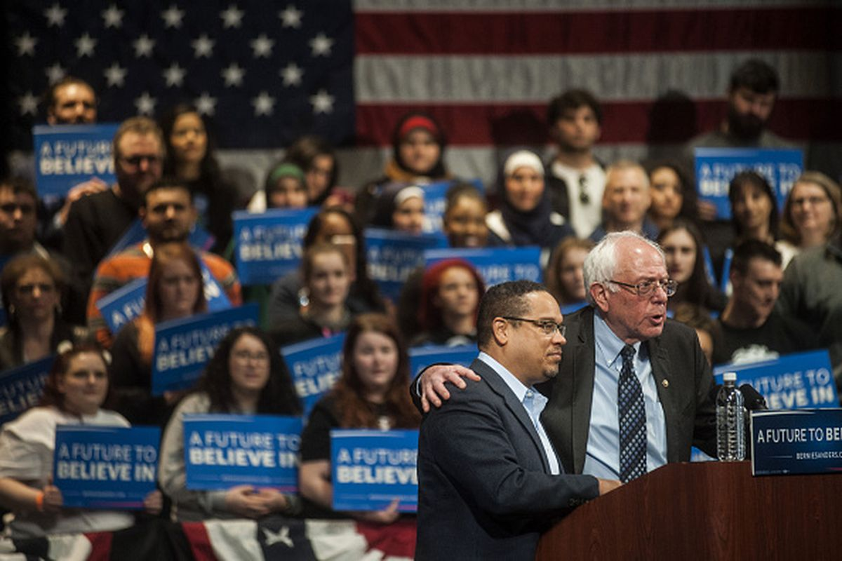 Rep. Keith Ellison, the first Muslim-American Congress member, was a key Bernie Sanders ally. He didn't participate in last night's booing at the DNC, but told Vox on Tuesday why he isn't too worried about it.