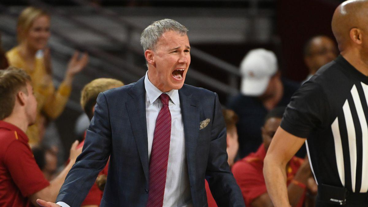 NCAA Basketball: Washington at Southern California
