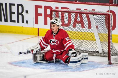 July 9, 2016. Carolina Hurricanes Summerfest and Prospect Development Camp Scrimmage, PNC Arena, Raleigh, NC. Copyright � 2016 Jamie Kellner. All Rights Reserved.