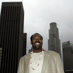 On April 13, 2012, Rodney King poses for a portrait in Los Angeles. The acquittal of four police officers in the videotaped beating of King sparked rioting that spread across the city and into neighboring suburbs. Cars were demolished and homes and businesses were burned. Before order was restored, 55 people were dead, 2,300 injured and more than 1,500 buildings were damaged or destroyed.