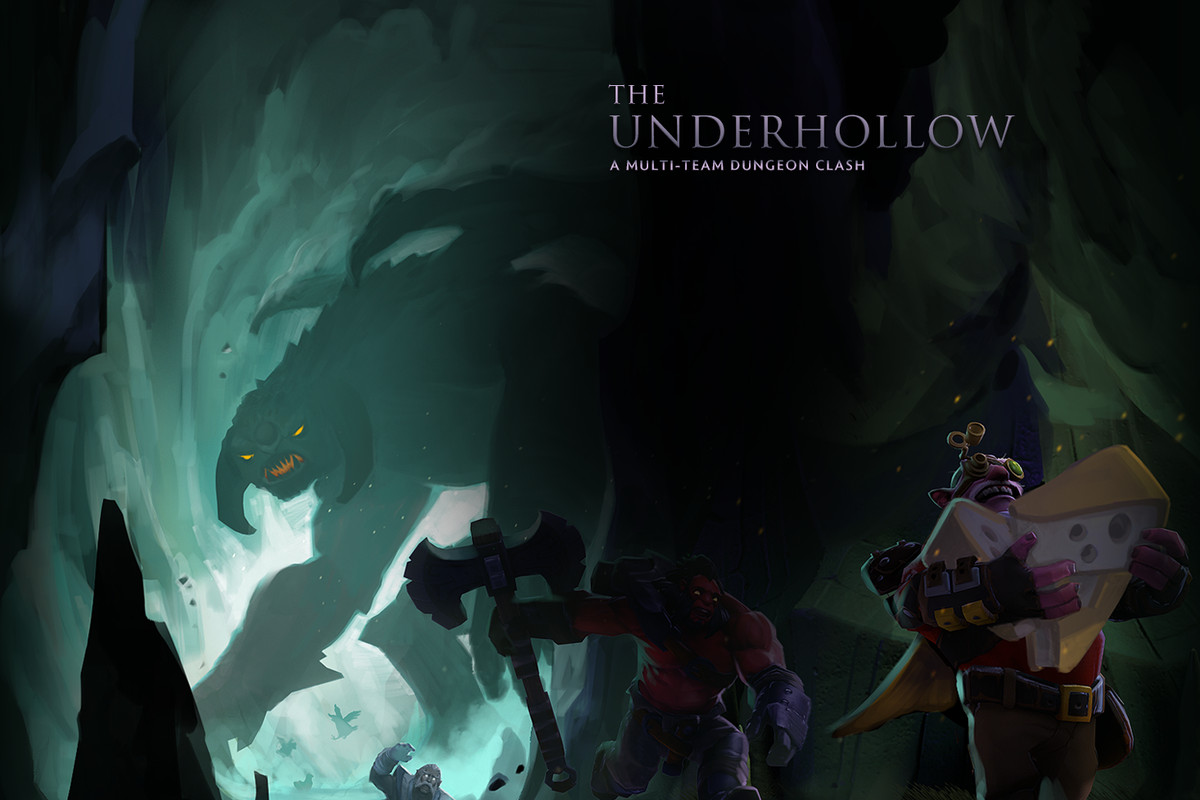 You can now play Underhollow, the Dota 2 Battle Royale mode