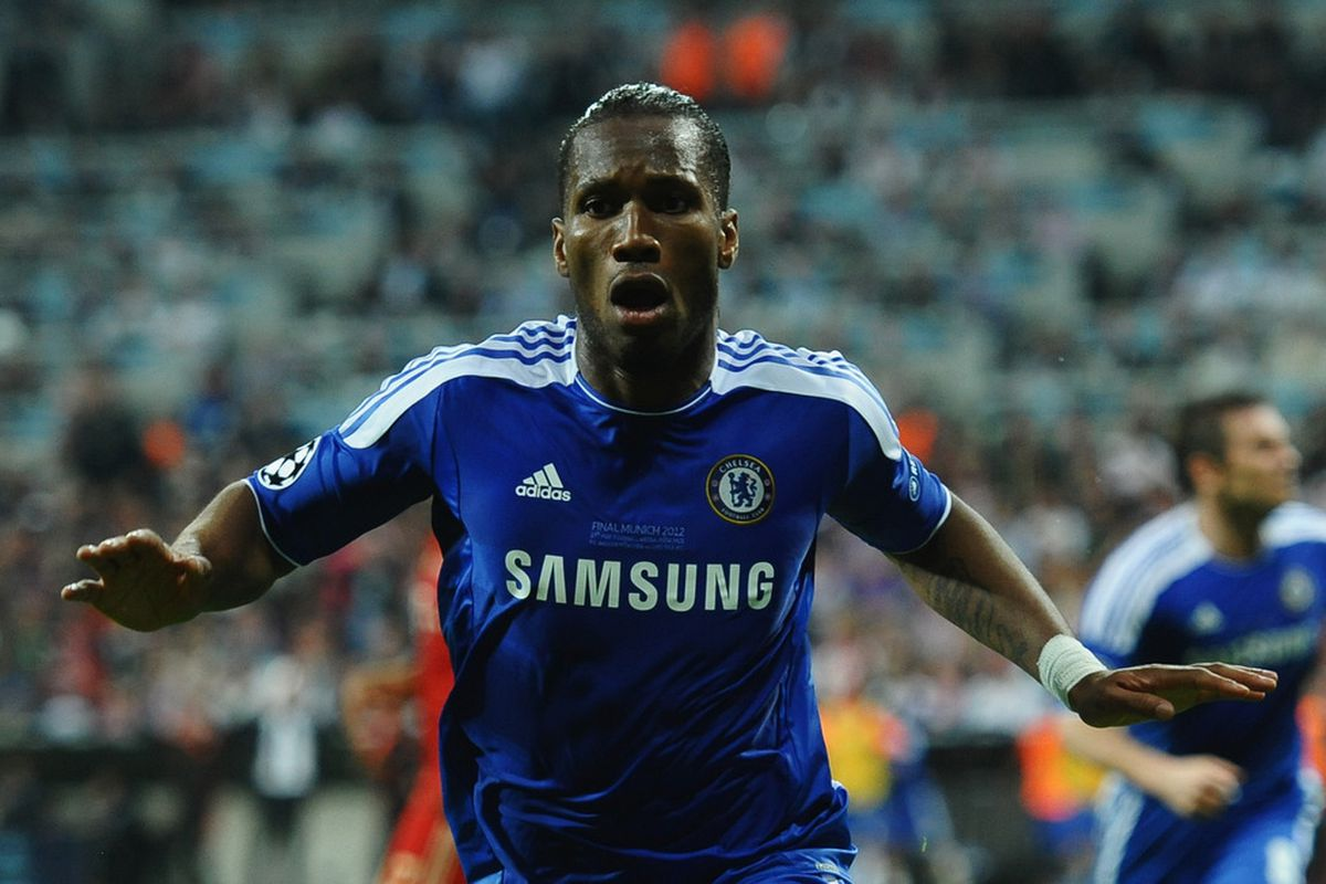 Drogba Chelsea Champions League Final