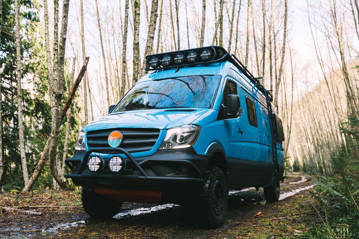 Camper Van Is The Ultimate Adventure Vehicle Curbed