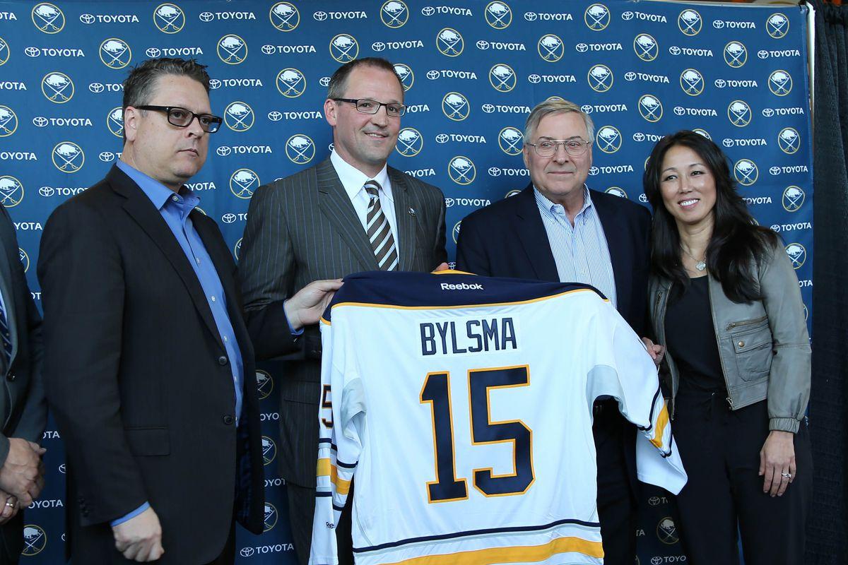 NHL: Buffalo Sabres Press Conference