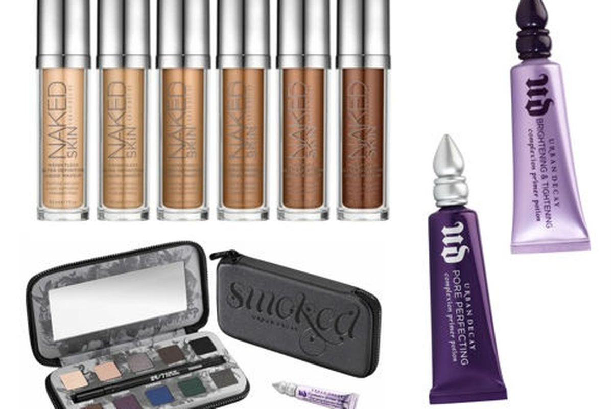 Naked Skin, Smoked palette, and two primers, courtesy of Urban Decay