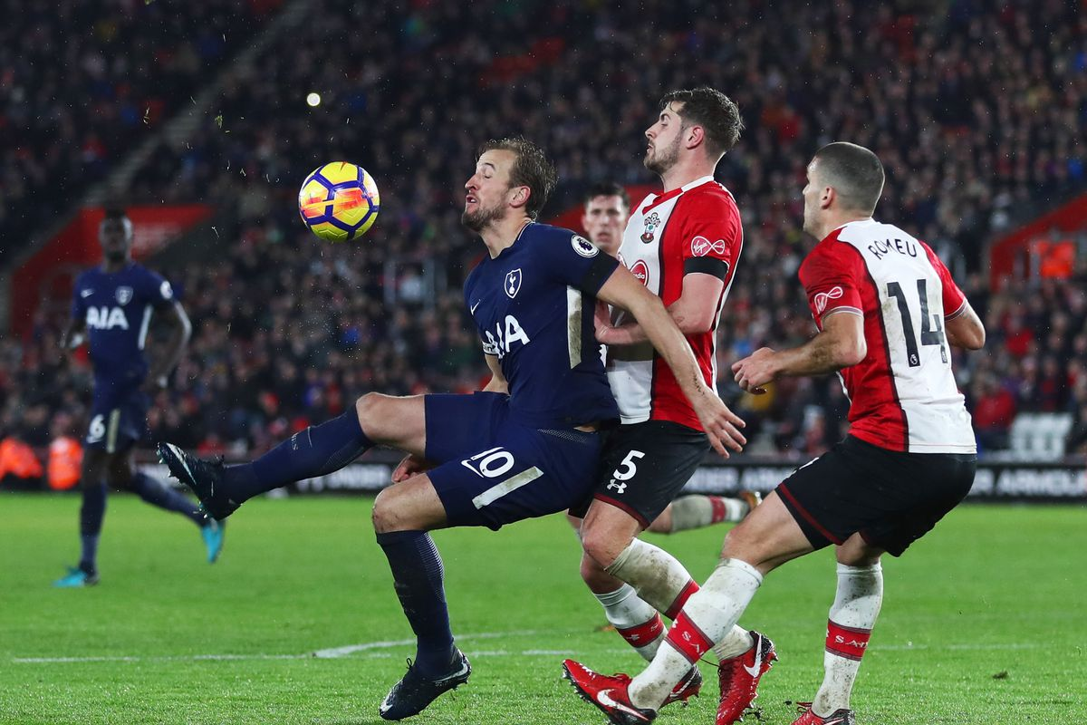 Harry Kane nets 99th league goal as Spurs are held by Southampton