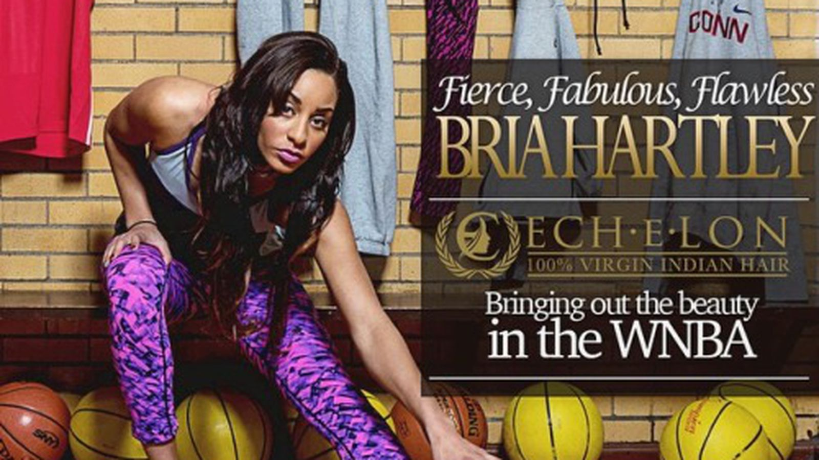 bria hartley gets endorsement from echelon hair swish appeal