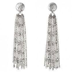 Multi-Chain Earrings in Silver $14.99