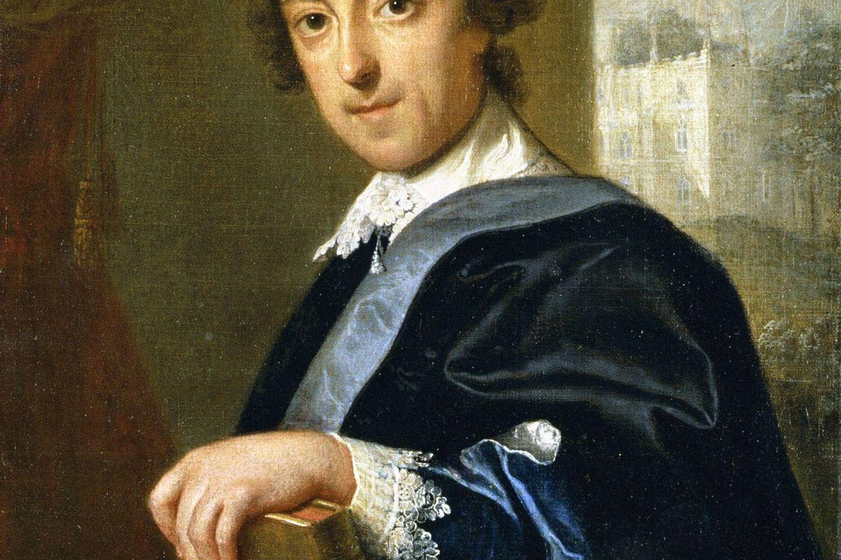 Portrait of Horace Walpole, John Giles Eccardt, 1754.