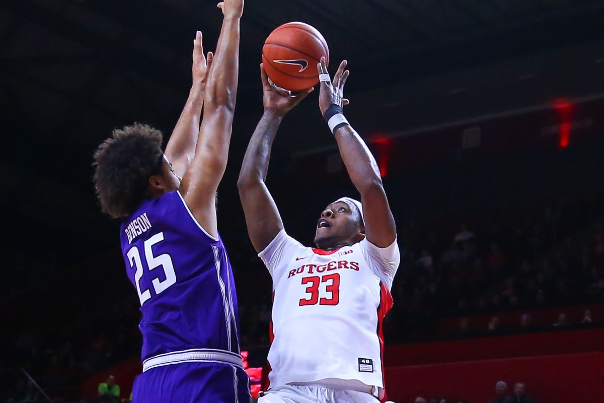 NCAA BASKETBALL: JAN 12 Northwestern at Rutgers
