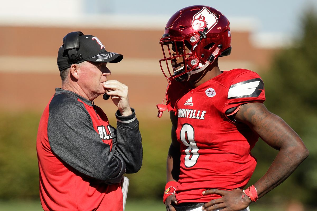 6b27c1230 Louisville's putting Lamar Jackson under center. What are the pros and cons?