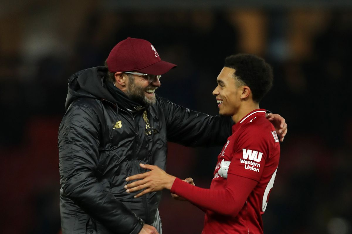 869c68170 Klopp Talk  Trent Alexander-Arnold Was Exceptional Against Watford ...
