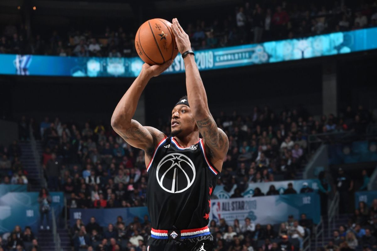huge discount e5d7a d16bb 2019 NBA All-Star Game: Beal helps Team LeBron rally to a ...