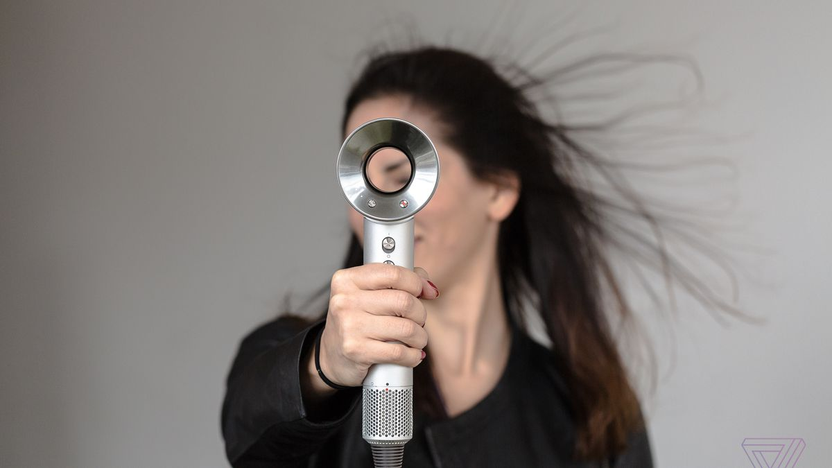Dyson's new Supersonic is the Tesla of hair dryers - The Verge