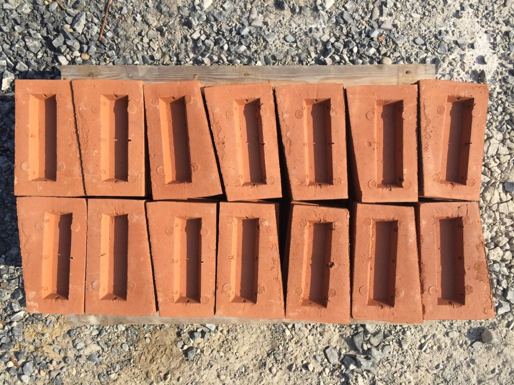 Bricks with different angles