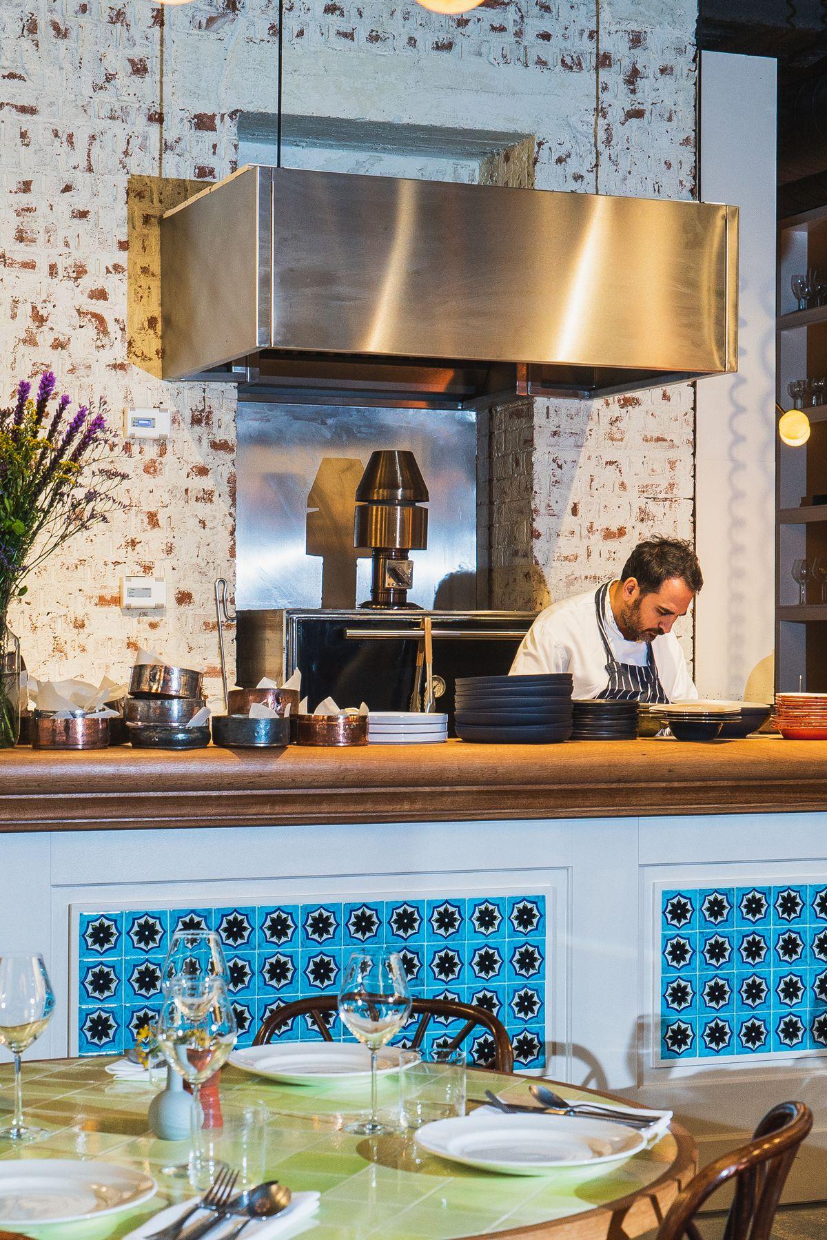 Yeni restaurant in Soho, London, from Yeni Lokanta Istanbul chef Civan Er