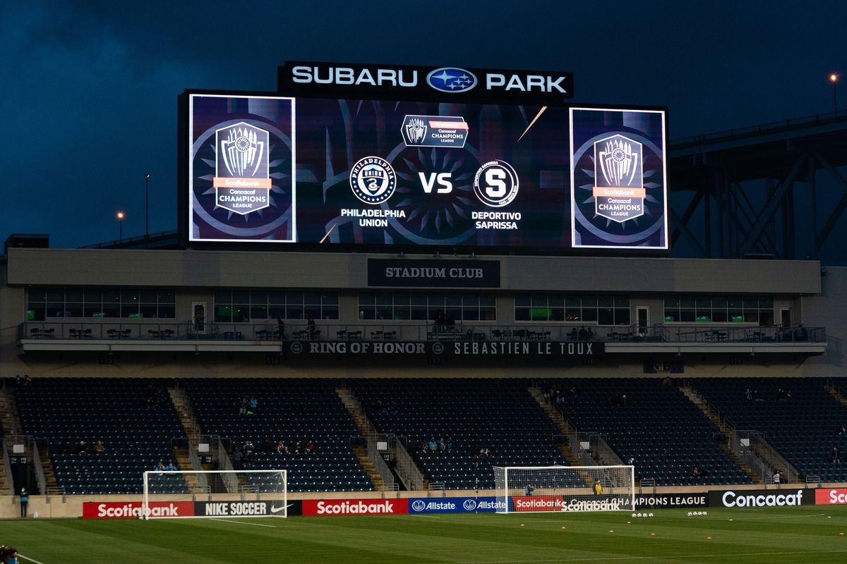 MLS: Concacaf Champions League-Saprissa at Philadelphia Union
