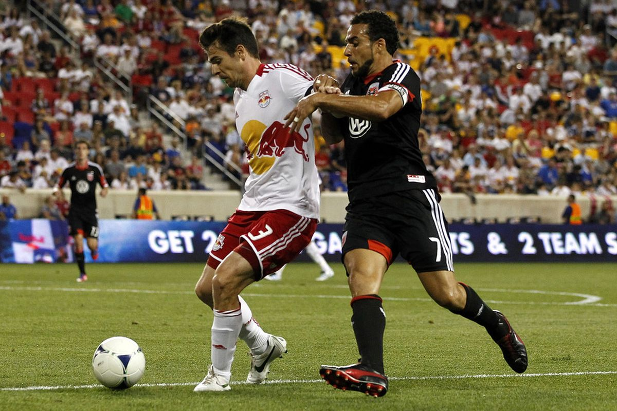 We're pretty short on Heath Pearce-in-a-Red-Bulls-jersey pics.