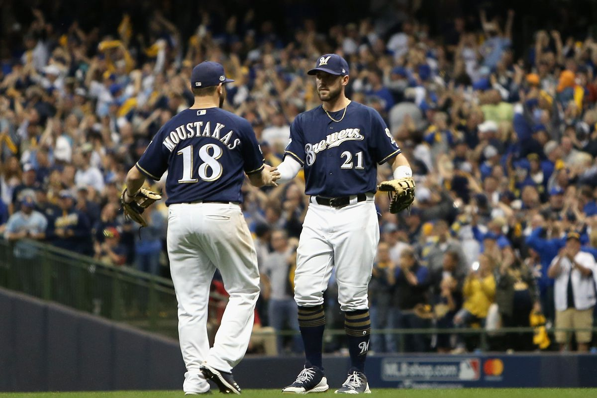 premium selection 2b68f 2a819 Mike Moustakas could play second base for the Brewers - Brew ...