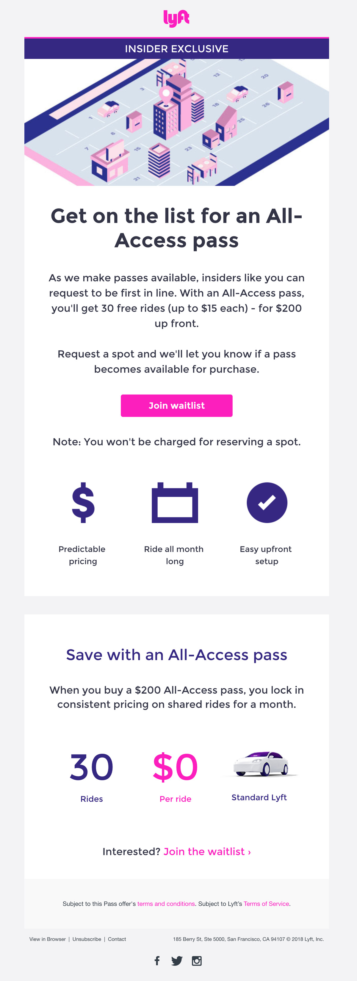 lyft s monthly subscription plan is expanding and now has a