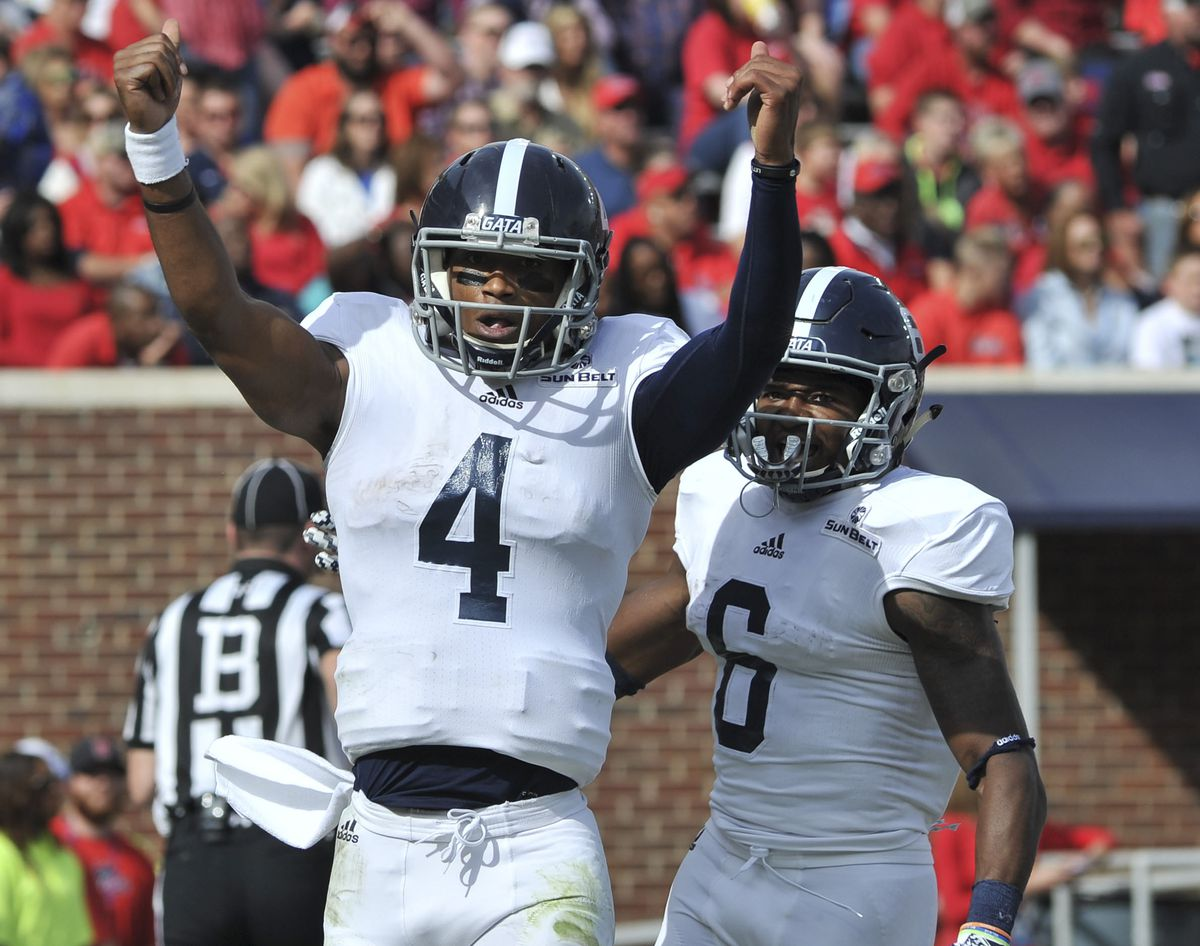 NCAA Football: Georgia Southern at Mississippi