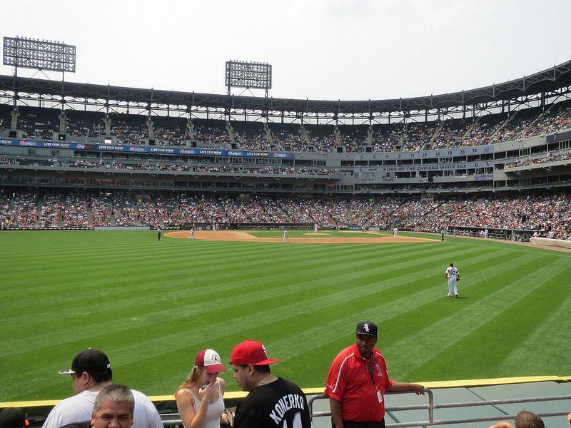 White Sox bleachers