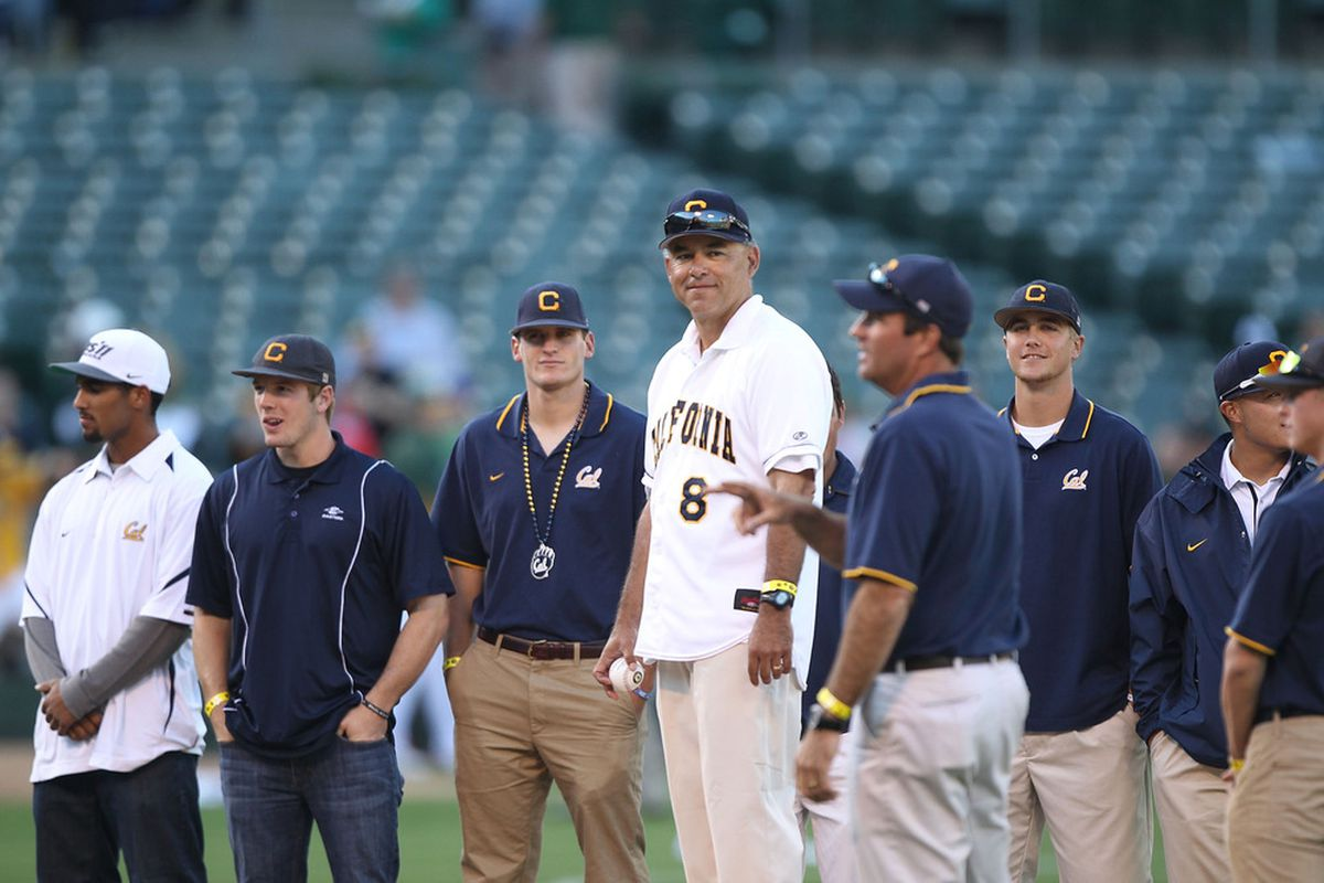 This is the only Cal baseball picture in our photo editor, which means get used to seeing it.