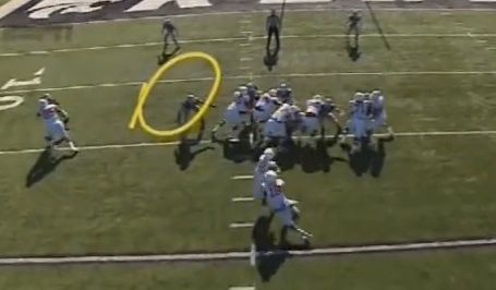 missed zone read swooped