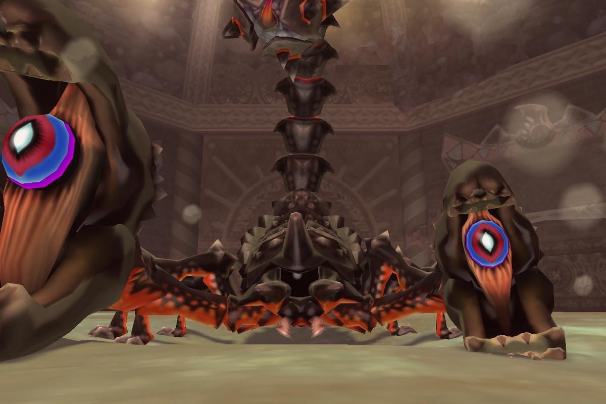 The Thousand-Year Arachnid Moldarach from The Legend of Zelda: Skyward Sword HD