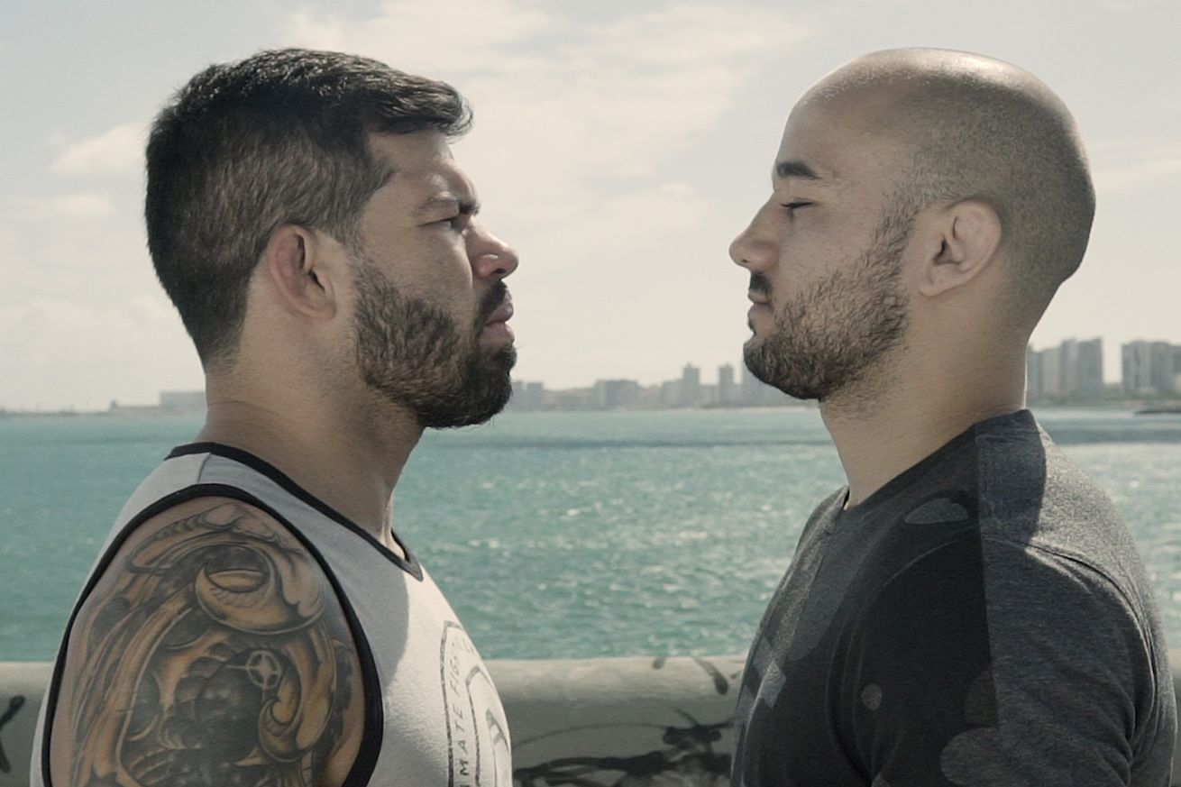 Raphael Assuncao and Marlon Moraes visited Fortaleza for a media day in December.