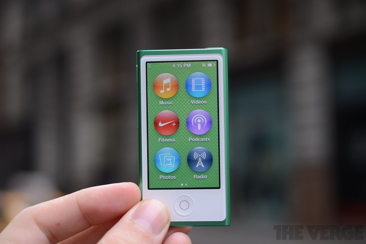 Apple confirms iPod nano and iPod shuffle have been