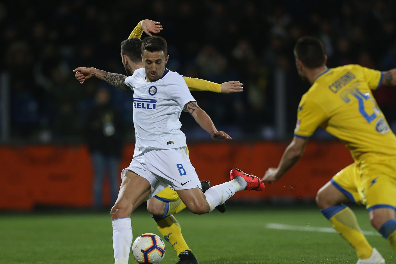 Inter Milan dispatch of Frosinone late