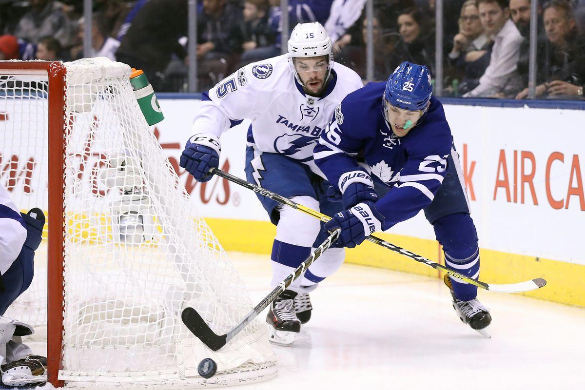 NHL: Tampa Bay Lightning at Toronto Maple Leafs