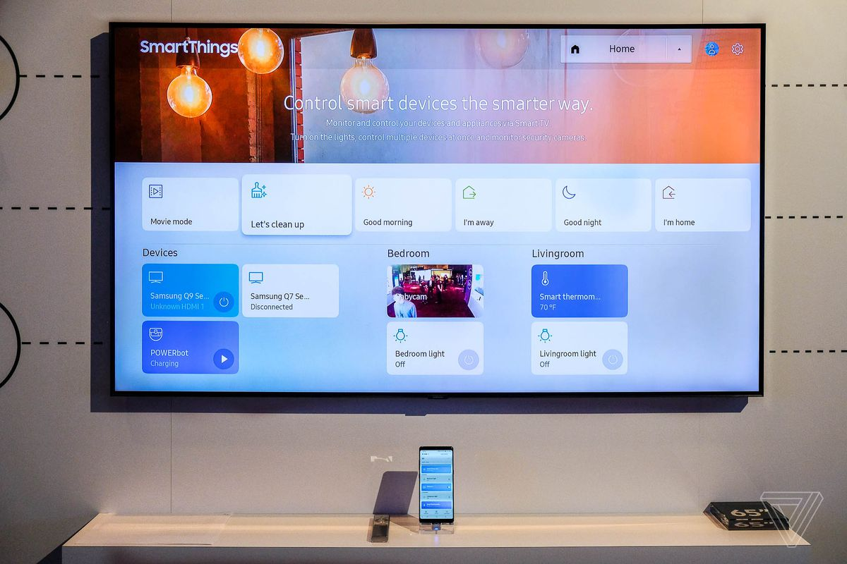 Samsung's 2018 QLED 4K TVs can blend into your wall and ...