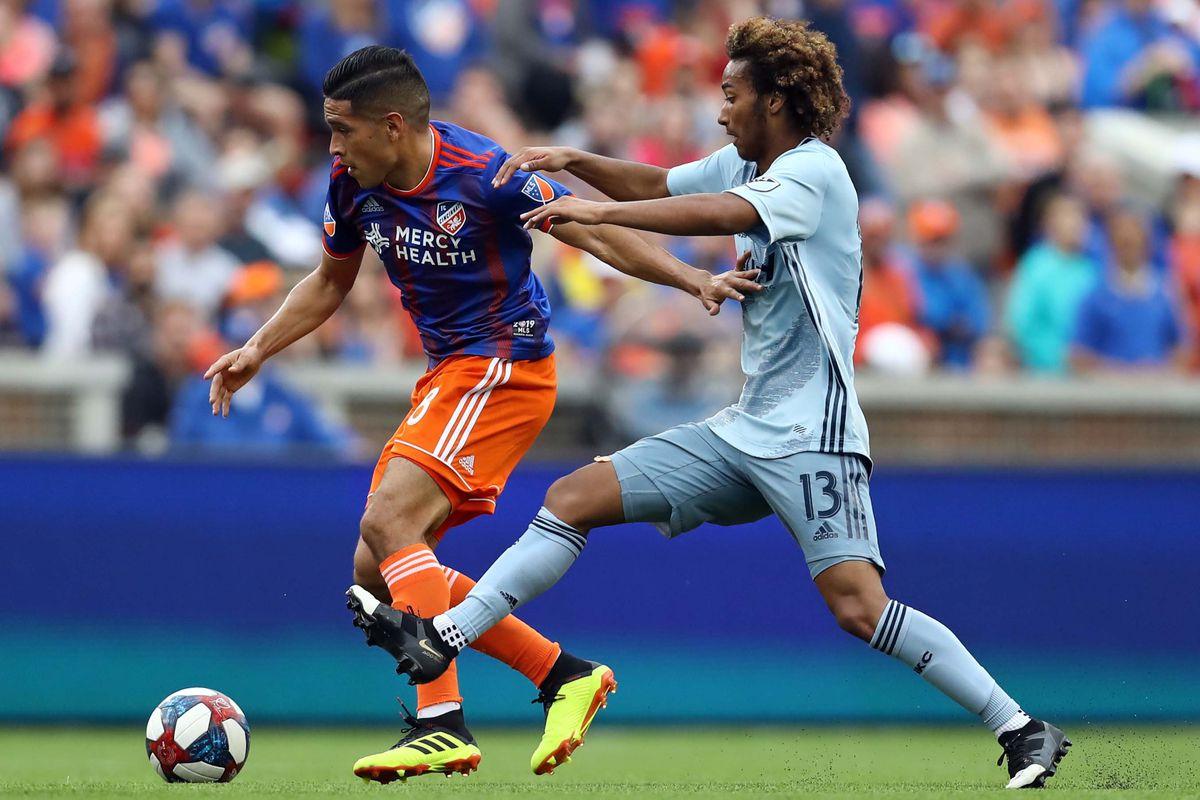 MLS: Sporting Kansas City at FC Cincinnati